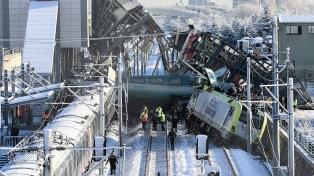 Al menos nueve muertos y 47 heridos al chocar un tren de alta velocidad