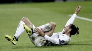 Bale se lesionó y Solari espera la recuperación en el Real Madrid