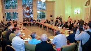 La Iglesia recibe un duro diagnóstico de gremialistas, empresarios y organizaciones sociales