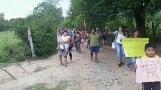 La comunidad indígena Colalao marchó para exigir la restitución de tierras