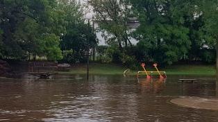 Las intensas lluvias afectaron a seis municipios bonaerenses