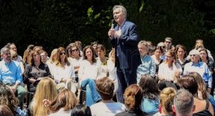 """Macri aseguró que """"hay un cambio de época"""" respecto de los derechos de la mujer"""