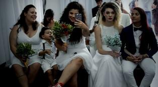 Parejas gay se casaron en una boda colectiva ante la preocupación por Bolsonaro