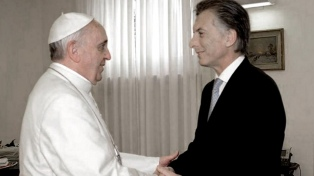 Macri saludó al papa Francisco por su cumpleaños 82