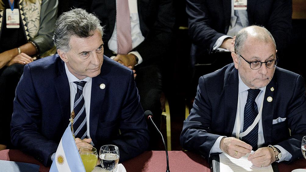 """Macri pidió """"apostar al Mercosur"""" y apuntó contra Venezuela"""