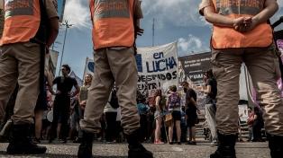Corte total en el Puente Pueyrredón por una protesta de trabajadores