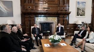 """""""Todavía tenemos meses duros por delante"""", le dijo Macri al Episcopado"""