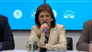 Bullrich descartó una medida de flexibilización de compra y tenencia de armas como en Brasil