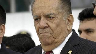 Murió a los 91 años el ex presidente Roberto Suazo Córdova
