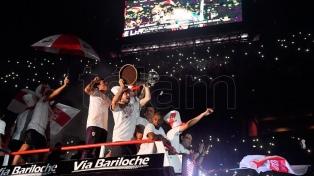 River publicó el video con la intimidad del Campeón de América en Buenos Aires