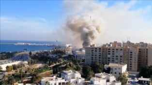 La ONU eleva a casi 150 los muertos por combates en Libia e Italia pide un alto el fuego