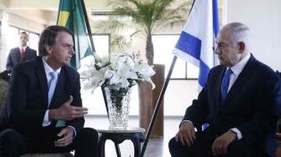 """Bolsonaro abre una """"oficina comercial"""" en Jerusalén"""
