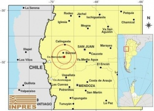 Un sismo de 5,4 grados se produjo esta mañana