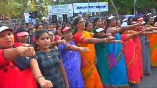 Por primera vez dos mujeres ingresaron al templo prohibido de Sabarimala