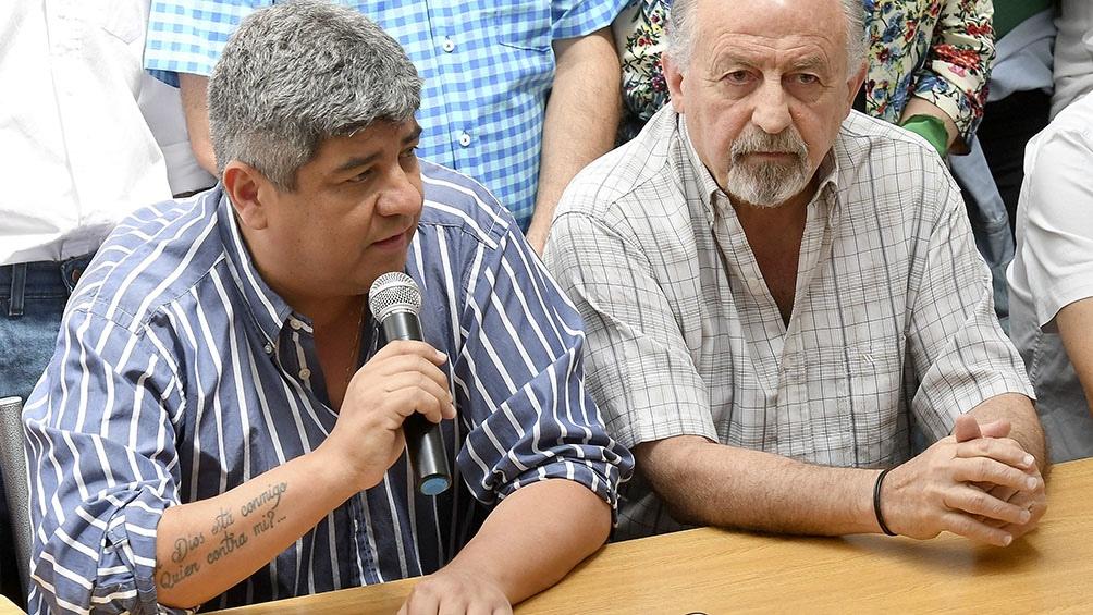 CONFERENCIA DE PRENSA: Gremios opositores anunciaron marchas en todo el país contra el aumento de tarifas