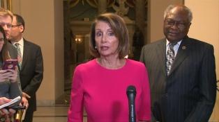 Pelosi invitó a Trump a dar su discurso del Estado de la Unión el 5 de febrero