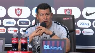 """""""En ningún momento pensé en irme"""", aseguró el entrenador de San Lorenzo, Jorge Almirón"""
