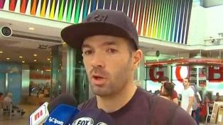 """Gigliotti antes de viajar a México: """"Mi salida fue rara, fui empujado"""""""