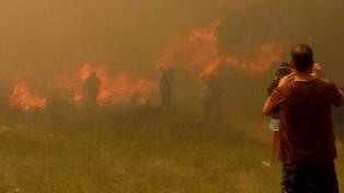 Fue totalmente extinguido el incendio de Villa Gesell, sin heridos ni daños materiales