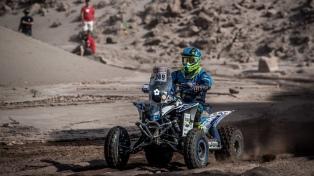 El argentino Cavigliasso se adjudicó la primera etapa en cuatrimoto en el Dakar