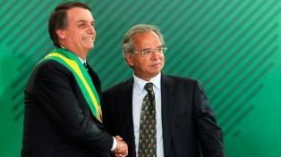 Bolsonaro y Guedes se mostraron en sintonía, pese a rumores de desacuerdo