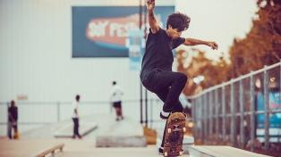 Abre al público la pista de skate de Tecnópolis, una de las más grandes del país