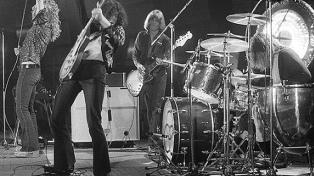 A 50 años del primer disco de Led Zeppelin: un dirigible que voló alto