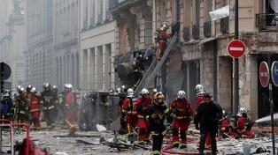 Al menos tres muertos y cerca de 50 heridos tras una explosión en París