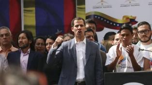 """La UE insta a Venezuela a garantizar """"libertad e integridad física"""" de Guaidó"""