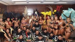 Ará Yeví, con 280 integrantes, abrió ante más de 20.000 personas el Carnaval del País