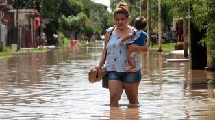 Rubinstein coordinó la asistencia para afectados por las inundaciones