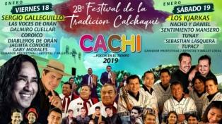 Cachi se prepara para recibir el 28° Festival de la Tradición Calchaquí