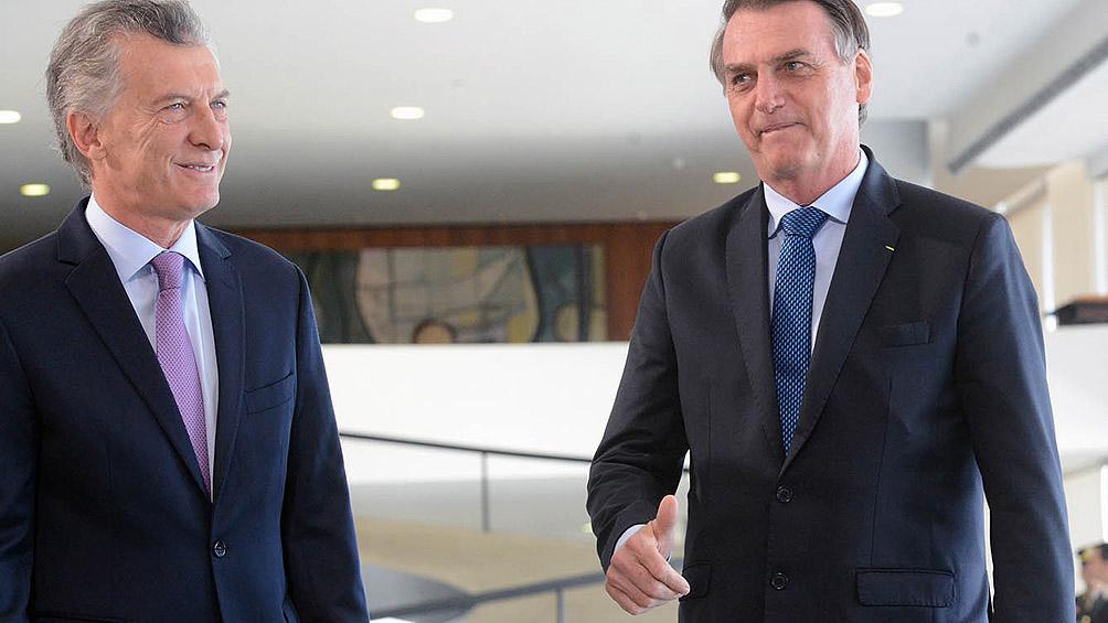 Bolsonaro visitará la Argentina el 6 de junio
