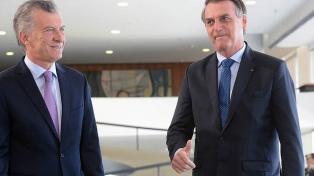 Macri y Bolsonaro trabajarán para revisar el arancel externo del Mercosur y ganar mercados