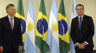 El encuentro entre Macri y Bolsonaro, en fotos
