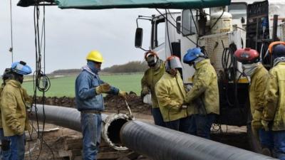 Inauguraron la ampliación del gasoducto Necochea-Barker