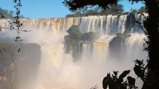 Afirman que no existe riesgo de inundación en la zona de las cataratas del Iguazú