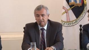 Morales firmó un convenio para proyectos de energía solar