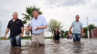 """Peppo: """"Hay recursos para iniciar la recuperación"""" tras las inundaciones"""