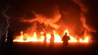 Ascienden a 125 los muertos por la explosión de un oleoducto
