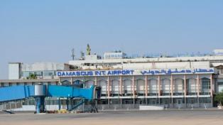 Acusan a Israel de un ataque fallido contra el aeropuerto de Damasco