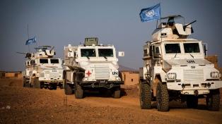 Milicias mataron a diez cascos azules de la ONU