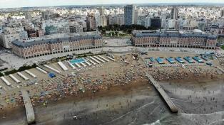 Arribaron más de 132.000 turistas a Mar del Plata para el fin de semana largo