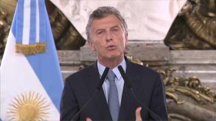 """Macri reconoció a Guaidó como """"presidente encargado"""" de Venezuela"""