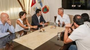 Urtubey y el intendente de Carlos Paz se reunieron y hablaron de turismo y desarrollo regional