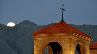 La Villa de Merlo desplegó gran actividad en su primera Fiesta de la Luna Llena