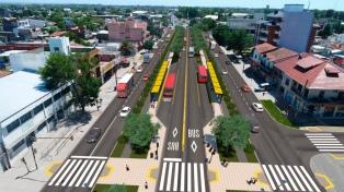 El Gobierno invertirá 222 millones de pesos para construir el Metrobus en Florencio Varela