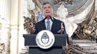 Macri recuerda a las víctimas del Holocausto