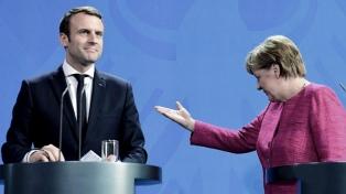 Macron y Merkel creen que es inminente un acuerdo UE-Reino Unido