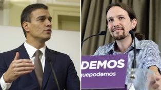 La coalición Unidos Podemos complica el futuro del gobierno de Pedro Sánchez